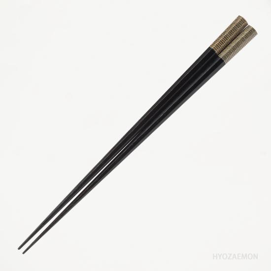 黒うるし金糸(中)