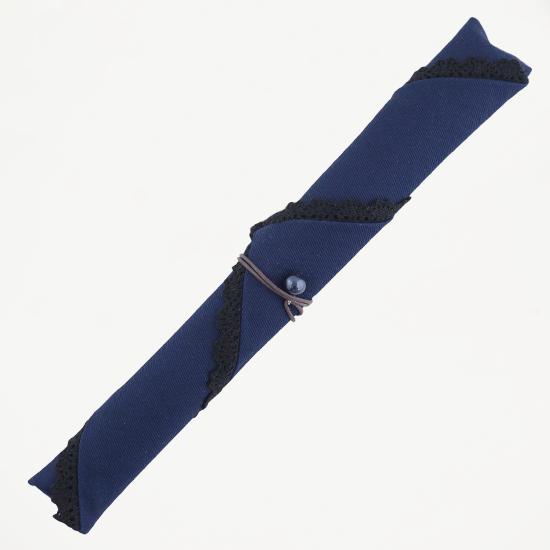 三角タイプ箸袋 レース(青)