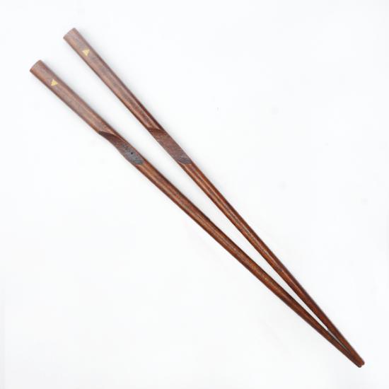 【左利き用】箸使いカラー すり漆(大)