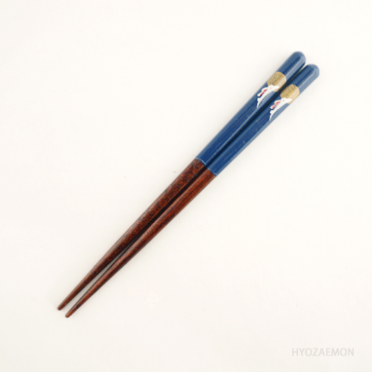 月うさぎ 青(14.5cm)