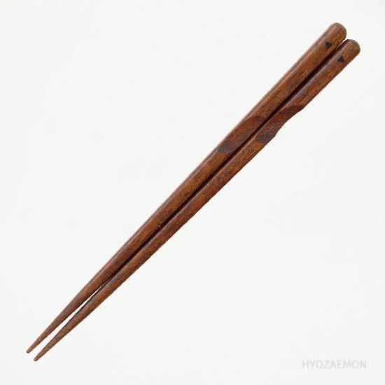 箸使い すり漆(中)