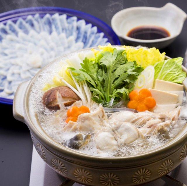 【送料無料】とらふく料理セット(大)4〜5人前 ふく刺&鍋セット