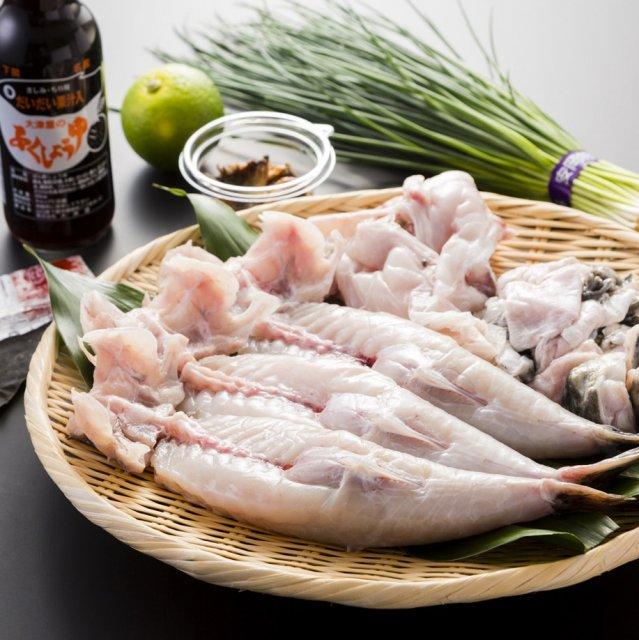 【送料無料】とらふく幸ふくセット(身欠き) お鍋に刺身に、お好きに調理!