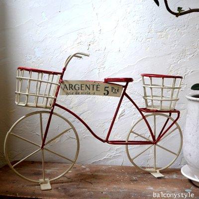 自転車のフラワースタンドサンクプレドゥーベル