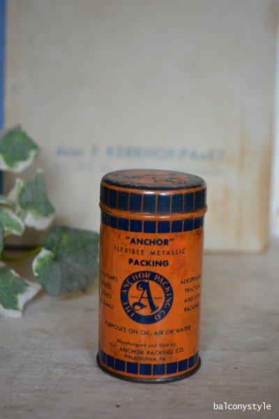 ブリキアンティーク缶