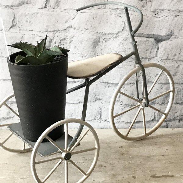 マルシェベルミニチュアの三輪車ベランダガーデンのデコレーション