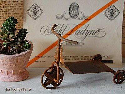 ラスティックティンTRYCYCLE三輪車