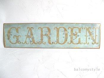 ガーデンサインプレート−GARDEN