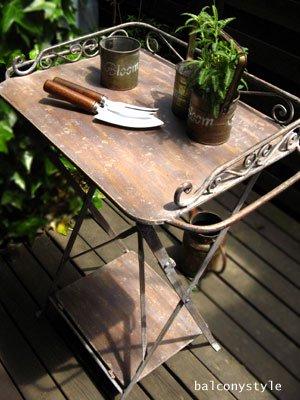 サイドテーブル-SHABBY IRON-