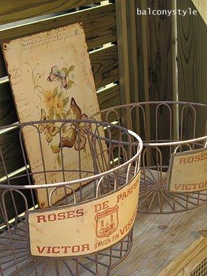 ランドリーバスケット-ROSE DE PERFUME-