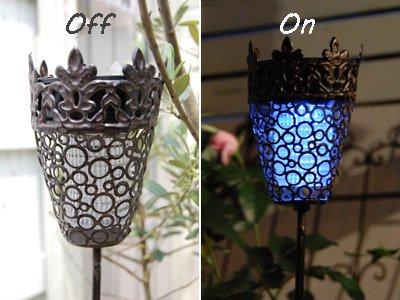屋外で使用可能な屋外で使用可能なソーラーブロカントスティックライト