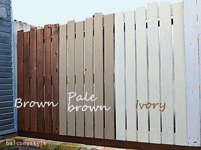 ベランダにぴったりの板壁木製フェンスボード吊り下げ可能