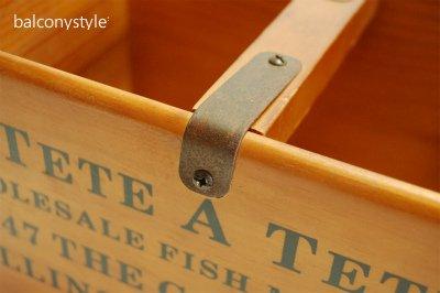 木製マーケットボックス