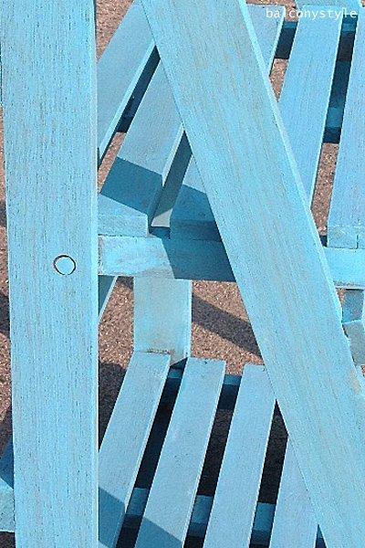 ウッドステップシェルフSサイズブル−木製シェルフ3段