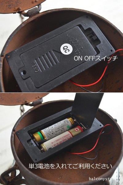 安心手軽な電池式ブロカントLEDハンギングランタンフラワーレリーフ