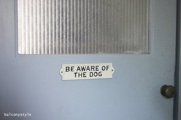 アイアンサインプレートCASTING SIGN DOG