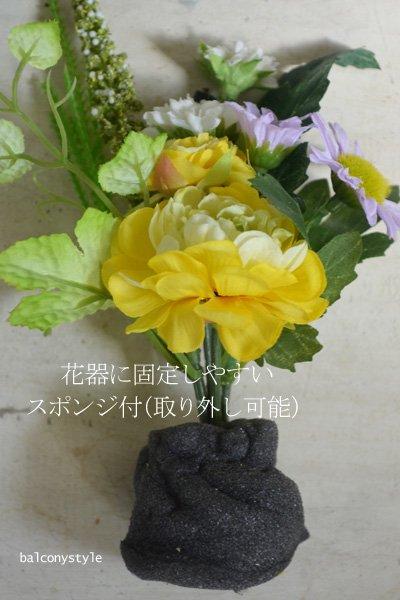 フューネラルフラワーラナンキュラスお仏壇用花器付