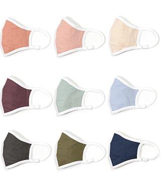 ダブルガーゼ カラー マスク アジャスター付 男女兼用