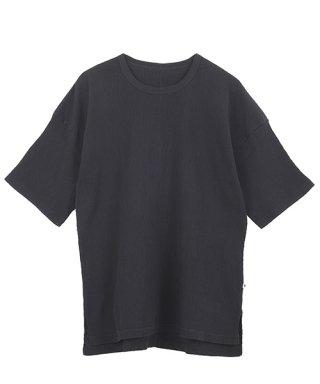 自然シボ メンズ Tシャツ ブラック<img class='new_mark_img2' src='https://img.shop-pro.jp/img/new/icons59.gif' style='border:none;display:inline;margin:0px;padding:0px;width:auto;' />