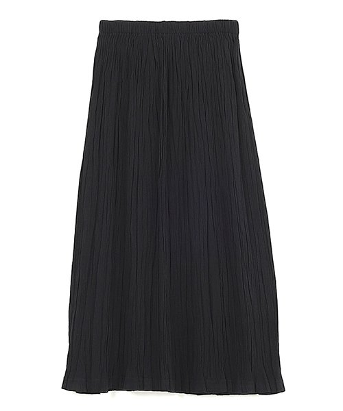 プリーツスカート ブラック
