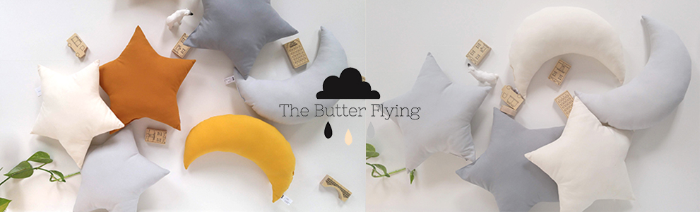 The Butter Flying 星のクッション 月のクッション ザ バターフライング