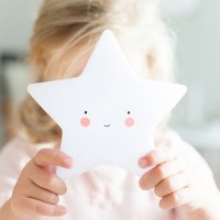Mini Star Lights (white) by A Little Lovely Company