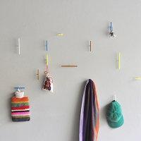 Line hook (壁掛けフック) by kolor