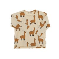 <img class='new_mark_img1' src='https://img.shop-pro.jp/img/new/icons47.gif' style='border:none;display:inline;margin:0px;padding:0px;width:auto;' />llama ls relaxed tee(2Y) by tinycottons