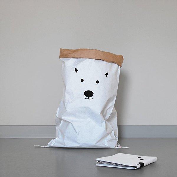 ペーパーストレージバッグ(polar bear) ...