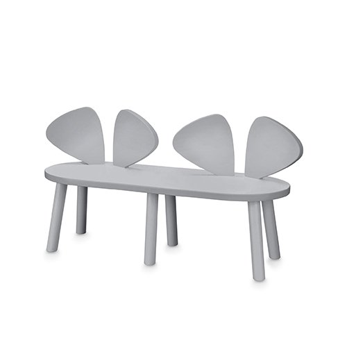 Mouse Bench (grey) by Nofred