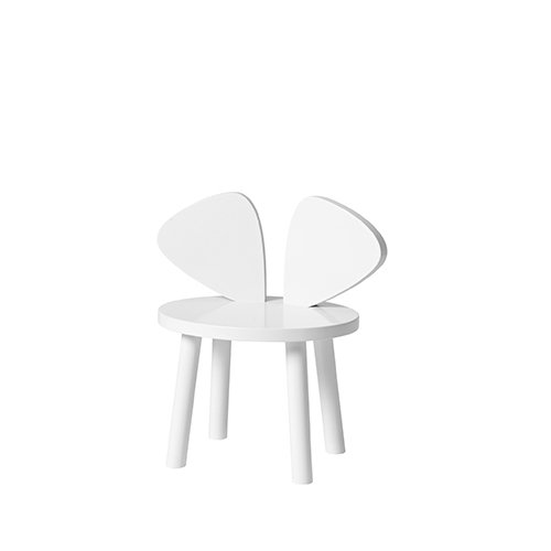 Mouse Chair (white) by Nofred