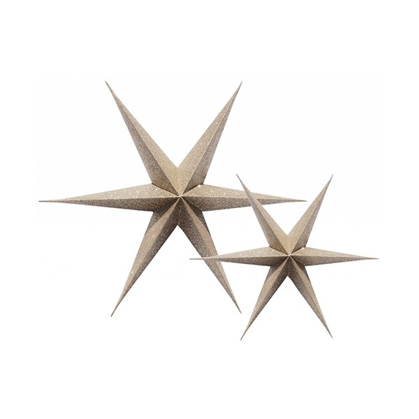 <img class='new_mark_img1' src='https://img.shop-pro.jp/img/new/icons20.gif' style='border:none;display:inline;margin:0px;padding:0px;width:auto;' />【SALE 50%off】Gold Glitter Stars 2個set by Delight Department