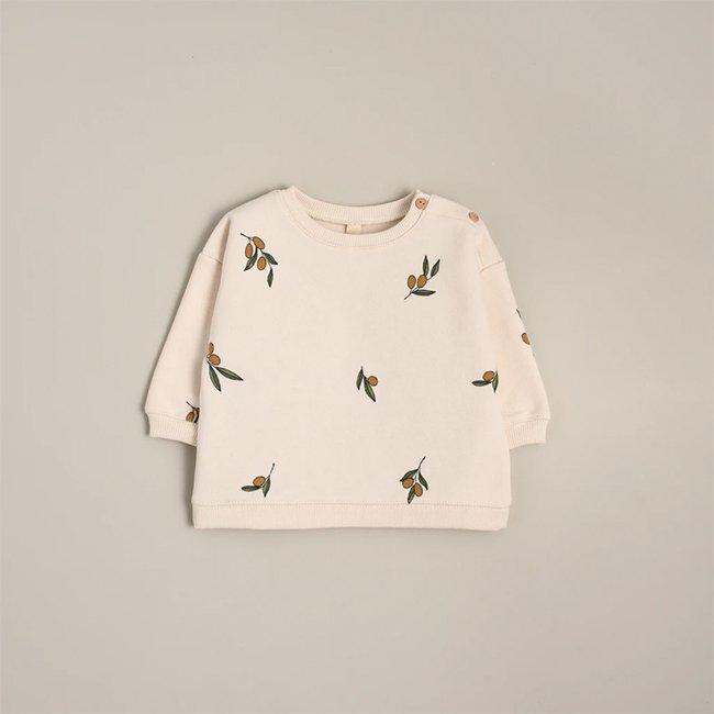<img class='new_mark_img1' src='https://img.shop-pro.jp/img/new/icons6.gif' style='border:none;display:inline;margin:0px;padding:0px;width:auto;' />【送料無料】Olive Garden Sweatshirt by Organic Zoo