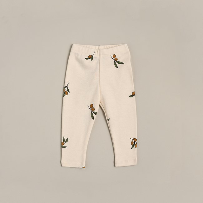 <img class='new_mark_img1' src='https://img.shop-pro.jp/img/new/icons6.gif' style='border:none;display:inline;margin:0px;padding:0px;width:auto;' />Olive Garden Leggings  by Organic Zoo