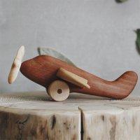 <img class='new_mark_img1' src='https://img.shop-pro.jp/img/new/icons6.gif' style='border:none;display:inline;margin:0px;padding:0px;width:auto;' />【送料無料】Wooden Plane 木製飛行機 by tateplota