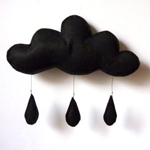 【OUTLET 50%off】【送料無料】Cloud mobile (black) by The Butter Flying