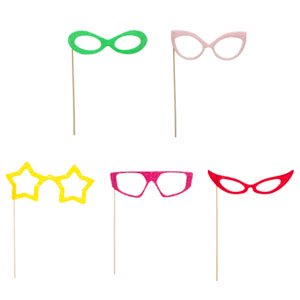 Photo Props Womens Glasses by MUSTACHE AND LIPS