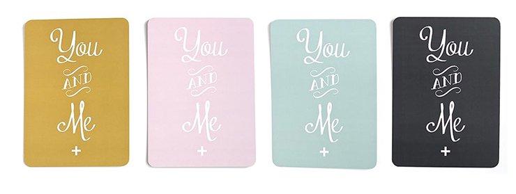 ポストカード YOU AND ME by CINQMAI