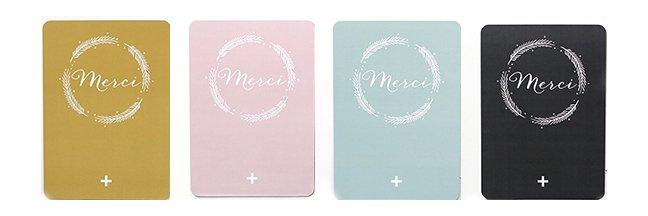 ポストカード MERCI/ANNA by CINQMAI