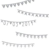 【クリアランスセール 60%off】Basic Banner Silver by A little Lovely Company
