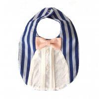 <img class='new_mark_img1' src='//img.shop-pro.jp/img/new/icons20.gif' style='border:none;display:inline;margin:0px;padding:0px;width:auto;' />[SALE 15%off] GENTLEMAN BIB BLUE STRIPE by ANTENA