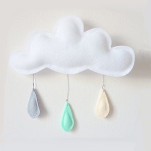 Cloud mobile (grey mint cream)