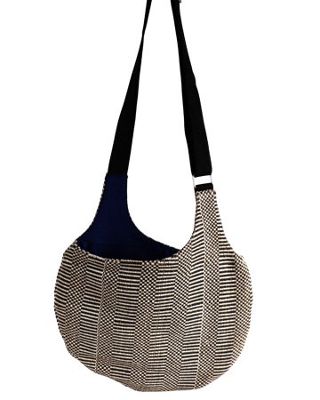Body Bag  ボディバッグ Grosgrain (グログラン×コットンネイビー)