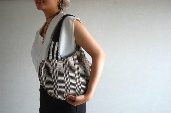 Mini Bag   Grosgrain (グログラン×ブロックストライプ)