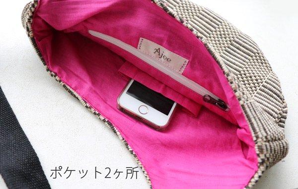 Mini Bag   Grosgrain (グログラン×コットンピンク)