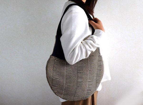 Mini Bag   Grosgrain (グログラン×コットンネイビー)