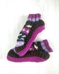 手編み フットカバー・くつ下