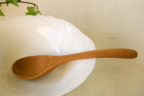 木のスプーン・カトラリー スープスプーン