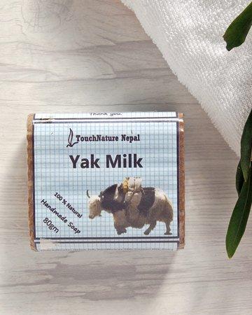 ヤクのミルクとハーブのナチュラルソープ(せっけん)