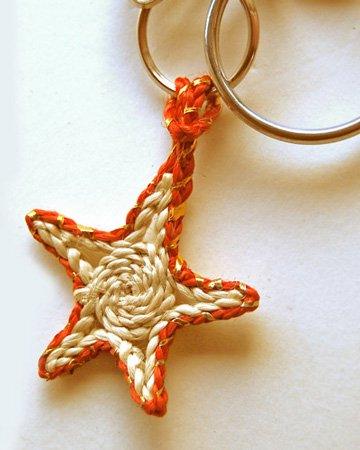 【チャリティー商品】ジュート製マスコット「お星さま」